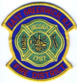 Abzeichen Fire District East Greenwich