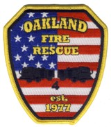Abzeichen Fire and Rescue Oakland