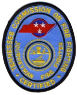 Abzeichen Tennessee Commission on Fire Fighting