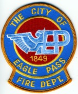 Abzeichen Fire Department City of Eagle Pass