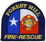 Abzeichen Fire - Rescue Forest Hill