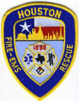 Abzeichen Fire and Rescue Houston