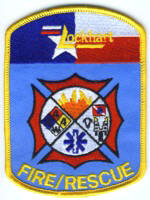 Abzeichen Fire and Rescue Lockhart