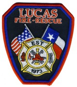 Abzeichen Fire and Rescue Lucas