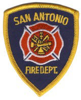Abzeichen Fire Department San Antonio