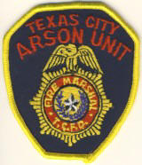 Abzeichen Fire Marshal Texas City