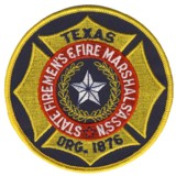 Abzeichen Texas Firemen's and Fire Marshal's Association