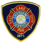 Abzeichen Fire Department Salt Lake City