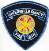Abzeichen Fire Department Chesterfield County