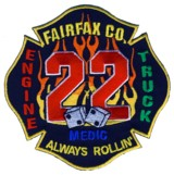 Abzeichen Fire Department Fairfax County / Station 22
