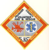 Abzeichen Volunteer Fire and Rescue Fauquier County