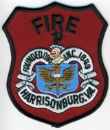 Abzeichen Fire Department Harrisonburg