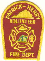 Abzeichen Volunteer Fire Department Patrick-Henry