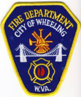 Abzeichen Fire Department City of Wheeling