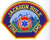 Abzeichen Fire and EMS Jackson Hole