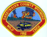 Abzeichen Wild Fire Crew Sweetwater County