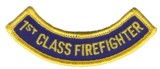Abzeichen 1ST CLASS FIRE FIGHTER