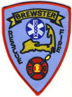 Abzeichen Fire and Rescue Brewster